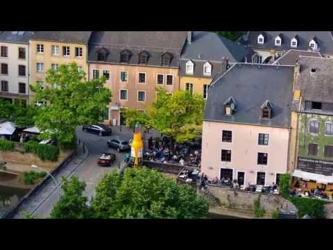 Many shots in luxembourg @ a time-lapse HD
