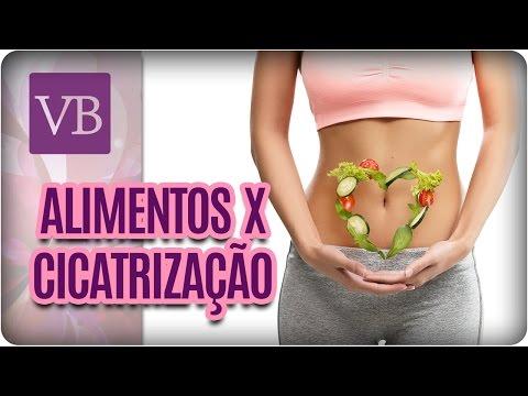 Influência dos Alimentos na Cicatrização - Você Bonita (12/05/17)