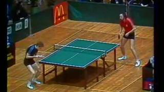 Table tennis. European Championships-1986. USSR - HUNGARY(Table tennis. European Championships-1986. 5-13 april 1986, USSR - HUNGARY. Настольный теннис. Чемпионат Европы-1986. 5-13 апреля 1986 г., ..., 2012-03-18T21:58:09.000Z)