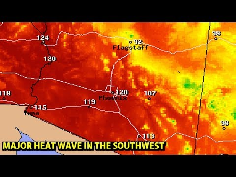 Attractive WEATHER FORECASTING   Tue 6/20/2017   SUMMER / SOUTHWEST HEAT WAVE