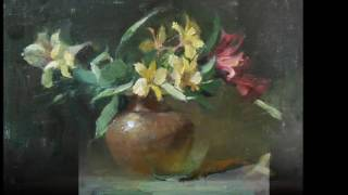 Kelli Folsom Oil Paintings ~ Floral Collection