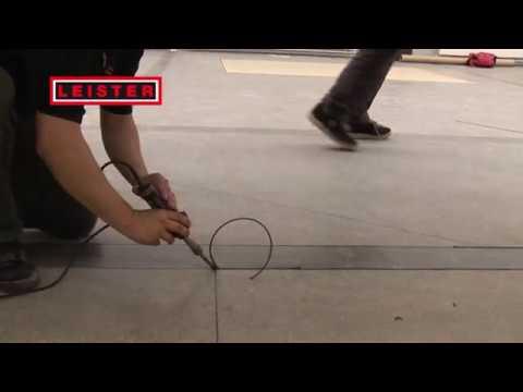 Nowość Leister GROOVER i UNIFLOOR: zgrzewanie wykładzin podłogowych - YouTube EG44