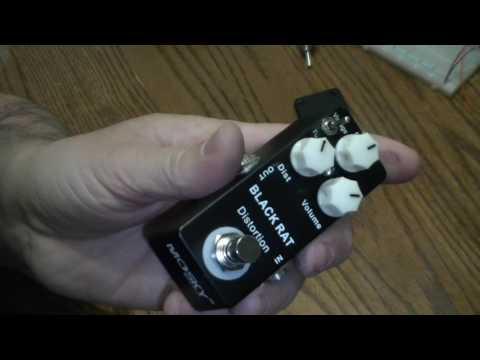 Mosky Black Rat Distortion pedal!
