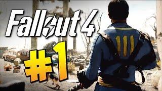 Прохождение Fallout 4 - Убежище! #1 (60 FPS)