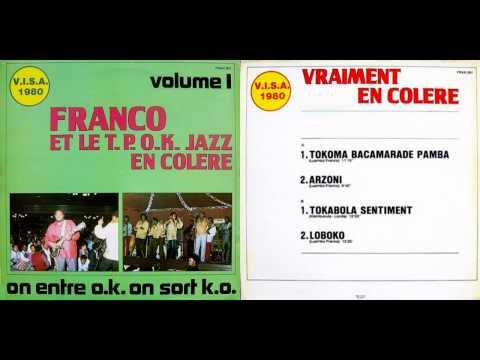 En Colère  Franco & le TP OK Jazz 1980