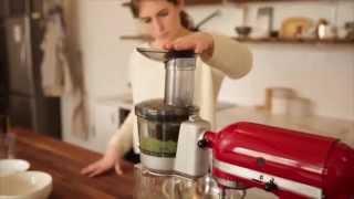 Stand Mixer Recipes: Green Juice   Kitchenaid