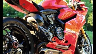 Ducati Panigale R 1st MotoVlog & scenes from bike night