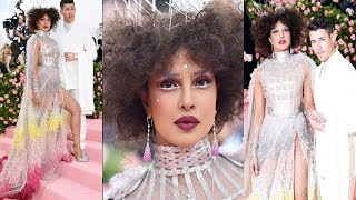 Priyanka Chopra's Unbelievable H0RRIBLE Look With Hubby Nick Jonas @Met Gala Awards, Watch Video