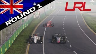 F1 2018 Legend Racing League S1 | Round 1: Australia (Official Highlights)