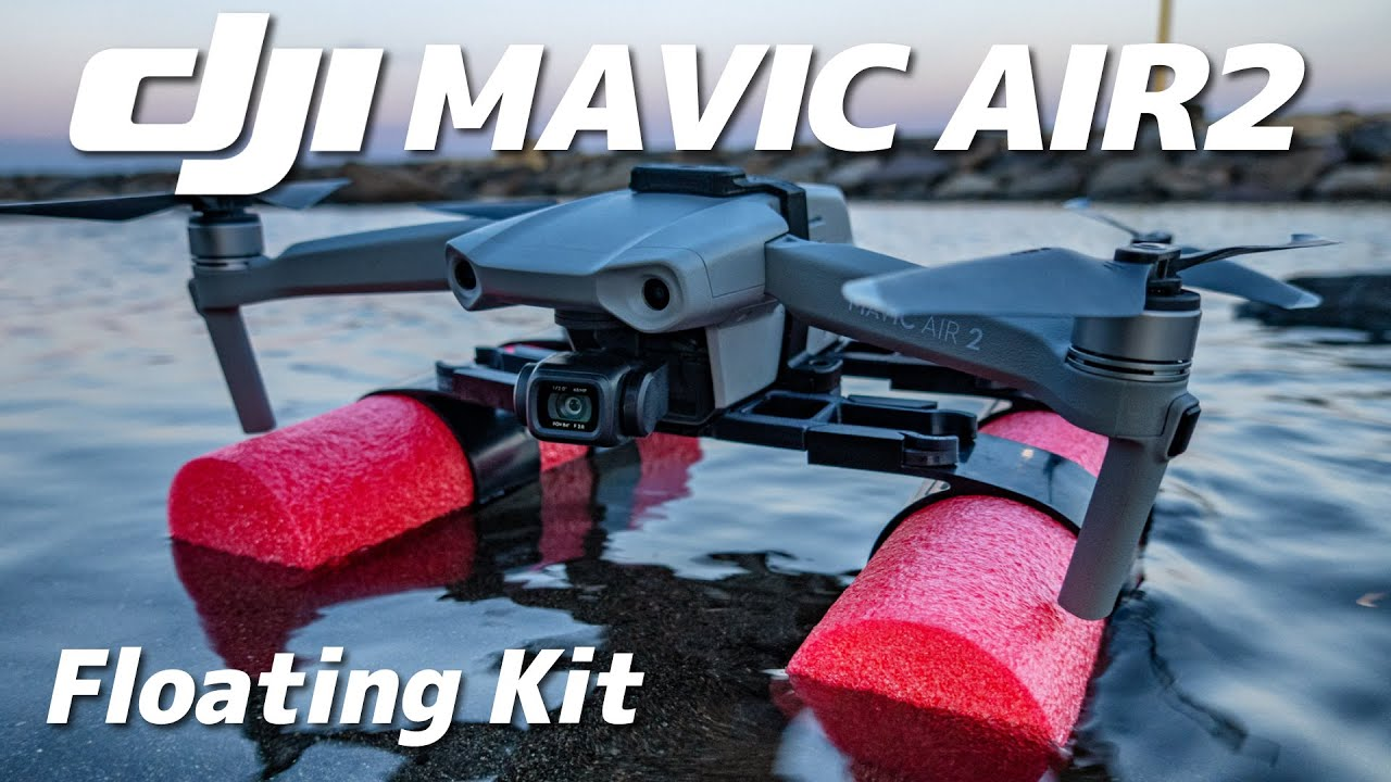 Mavic Air2水上に降り立つ!フローティングキットがちゃんと使えるのか検証しました。