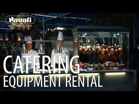 Catering Equipment Rental In Garden Party