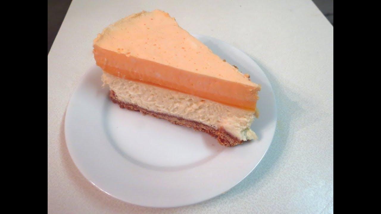 Orange Creamsicle Cheesecake - recipe - YouTube