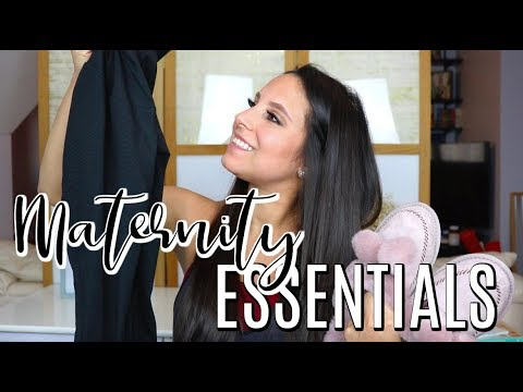 PREGNANCY WARDROBE ESSENTIALS | Maternity Clothes You ACTUALLY Need