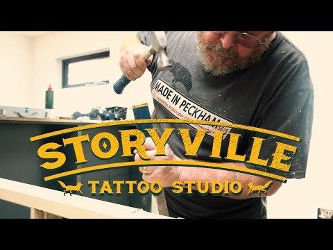 Storyville Tattoo studio build... part one