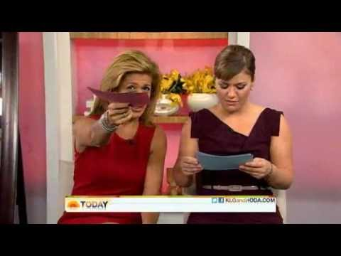 5. Kelly Clarkson co-hosts the Today Show with Hoda! (October 2011)