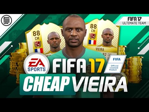 FIFA 17 CHEAP LEGEND VIEIRA! SQUAD BUILDER! - FIFA 17 Ultimate Team