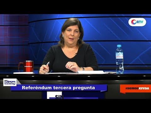 Referéndum tercera pregunta - SIN GUION con Rosa María Palacios