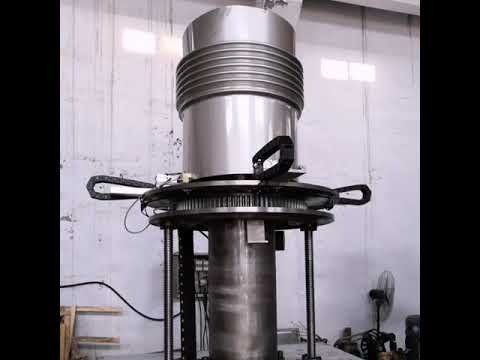 Metal bellows expansion joints forming machine
