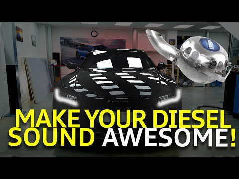 How To Make Your Diesel Car Sound Awesome!