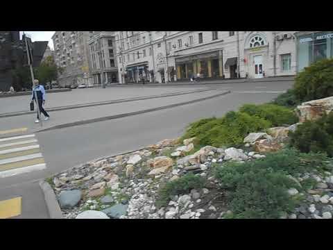 Москва | улица Автозаводская | ландшафтный дизайн на перекрестке