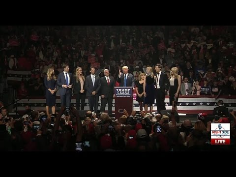 Full Speech: Donald Trump MASSIVE Rally in Manchester, NH 11