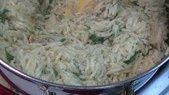 Herbed Lemon Garlic Orzo Pasta Recipe ~ Noreen's Kitchen