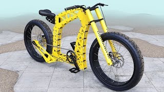 Unusual handmade bike