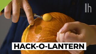 How to Hack Every Step of Carving a JackOLantern