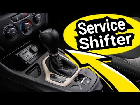 Jeep Cherokee SERVICE SHIFTER LIGHT ON FIX. P1C86 U1465 Service Engine Light On.9 Speed Transmission