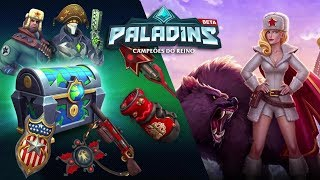 PALADINS - OB62 - TYRA RED WINTER - NEW CHEST - WORLD WIDE CHEDST