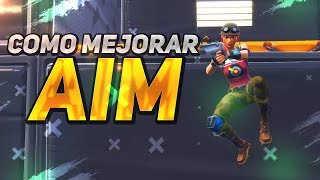 HOW TO IMPROVE AIM #ENTRENAMIENTO FOR PROS IN FORTNITE BATTLE ROYALE