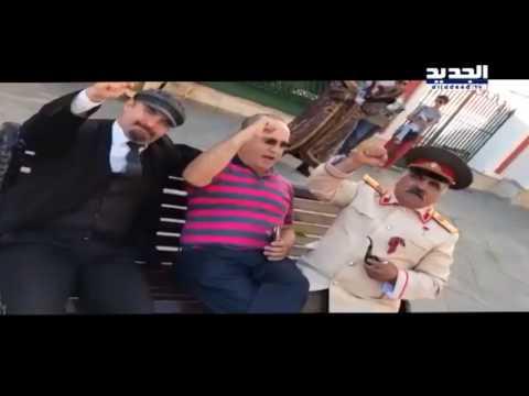"""وهاب يهتف بالساحة الحمراء في موسكو """"الله ونصرالله"""""""