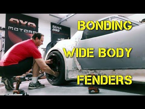Bonding Wide Body Fender Flares on the Blade GT1