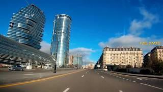 Баку белый город новые три дороги и светофор)