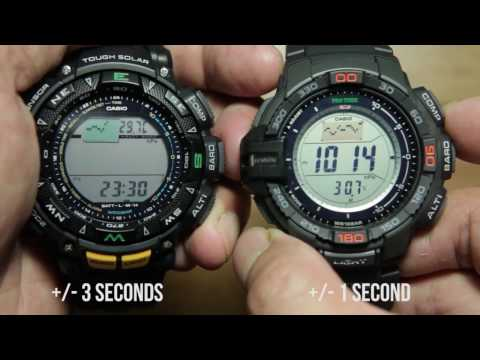 Casio Protrek Triple Sensor (PRG-240 ) VS NEW Triple Sensor Version 3 ( PRG-270)