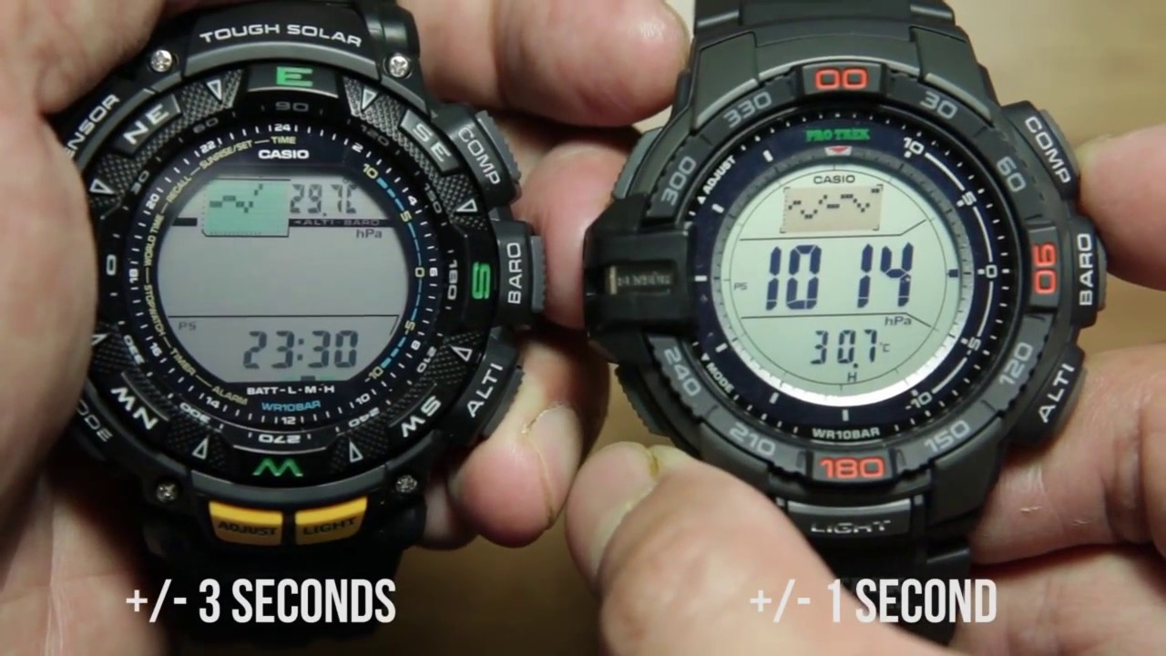 1abd48fbe Casio Protrek triple sensor (PRG-240 ) VS NEW Triple Sensor Version 3 ( PRG -270)