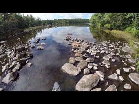 Canoeing in  Nova Scotia
