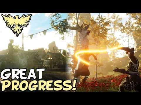 Ashes Of Creation MMORPG - Huge Progress & New Gameplay 2020