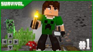 Minecraft PE Survival Ep.1 - O COMEÇO!