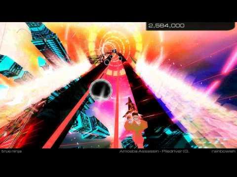 Audiosurf 2 True Ninja Mode: Amoeba Assassin - Piledriver (Grayed Out Mix)