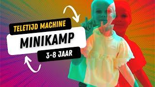 Minikamp Dans voor 3-8 jaar in Roeselare | Ndigo | Teletijdmachine