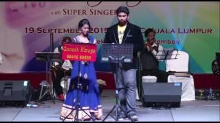 NENJAM MARAPATHILLAI by Super Singer PRIYANKA & SHRAVAN by TVG & GANESH KIRUPA Light Music Orchestra