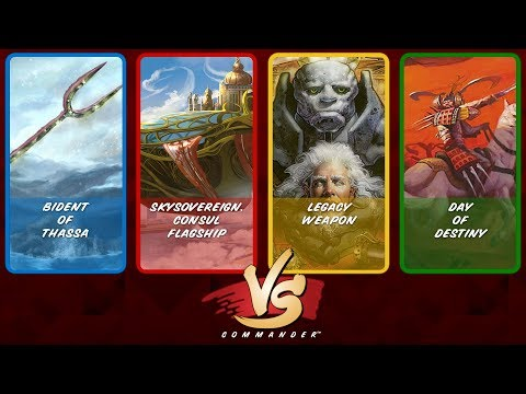 Commander VS S8E3: Bident vs Skysovereign vs Legacy Weapon v
