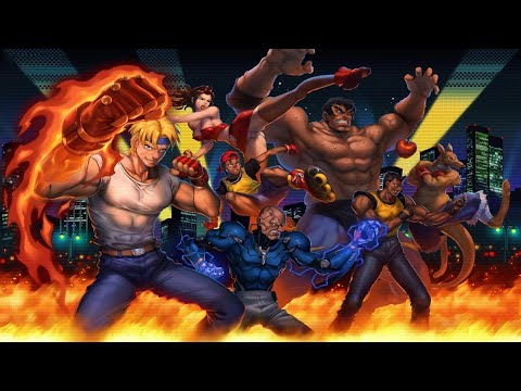 [SMD] Streets Of Rage 2 - PLUS ULTRA; Second Squad (no FF)