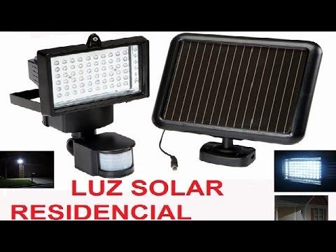 Como instalar lumin ria de led a energia solar em casa - Led para casa ...