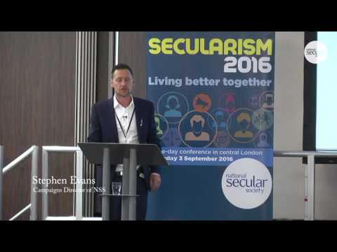 Session 4: Towards a secular education system - Stephen Evans