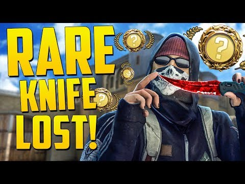 THE MOST RAREST KNIFE GOES BY! - CS GO Funny Moments