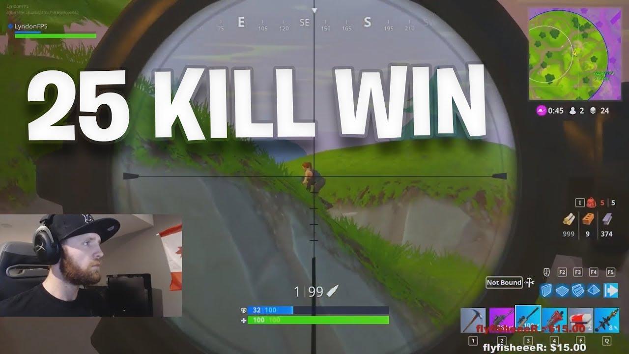 Kill Win Fortnite