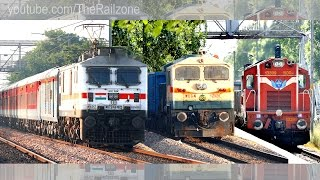 Daring Old Lady | Freight Trains NCR | Mumbai Rajdhani gets Chased.
