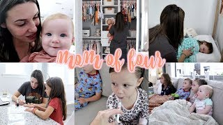 What My Day Is Like ALONE w/ FOUR Kids